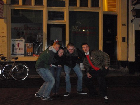 Pub Hopping with Best Mates; Amsterdam, Netherlands; 2010