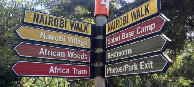 Visiting the Safari Park