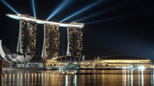 Marina Bay Sands Hotel, Singapore.