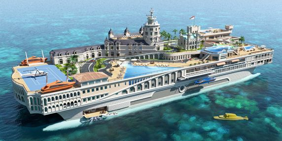 LUXURY YACHTS: Back to the future pics shipping boats
