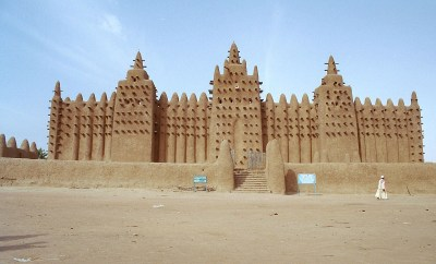 Islamic shrine in Timbuktu, Mali.