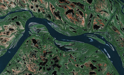 Yukon River, USA.