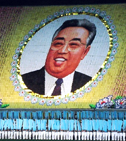 North Korean founder Kim Il Sung.
