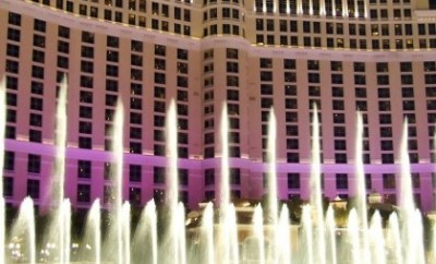 Fountain show @ Bellagio, Las Vegas