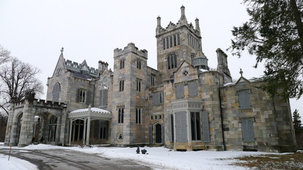 The Lyndhurst Castle, Tarrytown, NY.