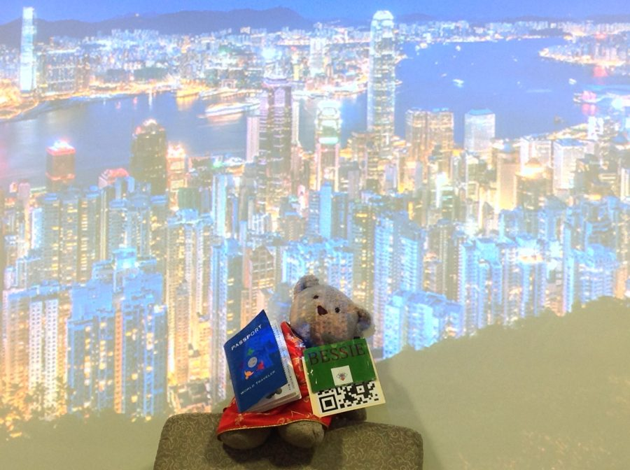 Bessie has arrived in Hong Kong