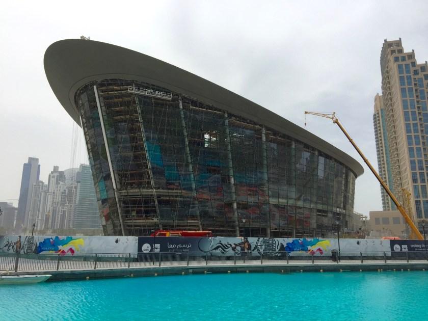 DUBAI OPERA : Construction update ,Plácido Domingo & opening day