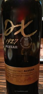 Delicious fortified dessert wine