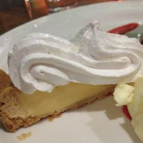 Fillaudeau's in the Swan Valley, dessert platter, tangy lemon and meringue tart