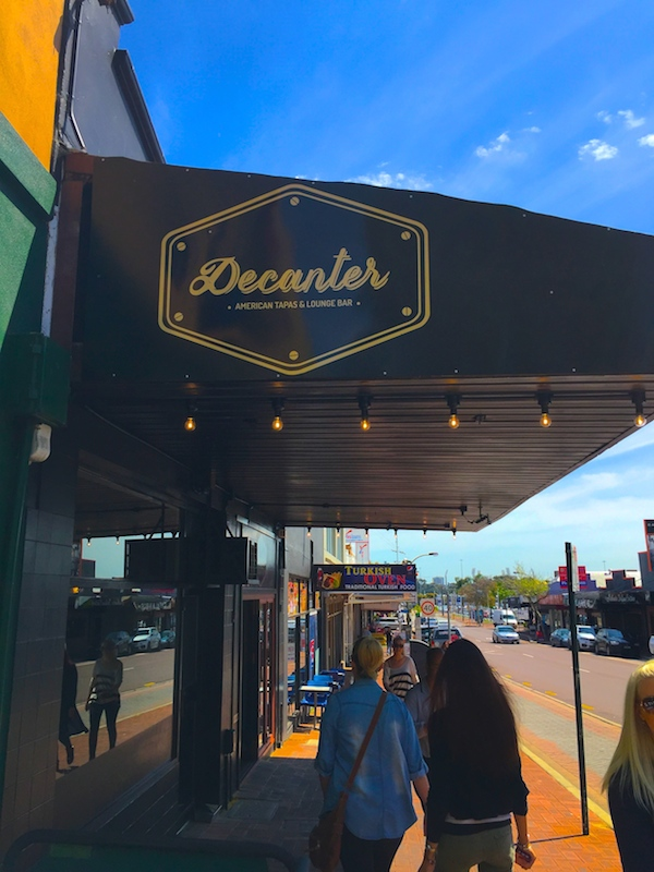 Decanter Bar in Vic Park, Perth