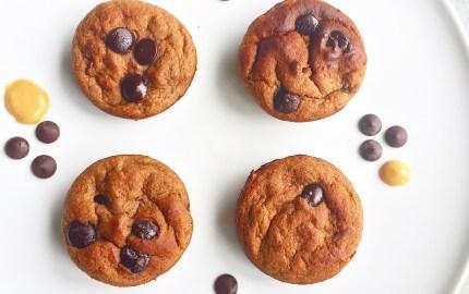 sugar free banana muffin