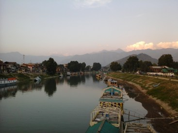 View of Jhelum river