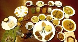 Bengal food platter