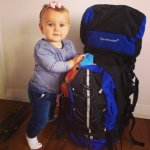 The hardest things about backpacking with a baby