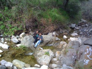 Stream along Santa Ynez Trail
