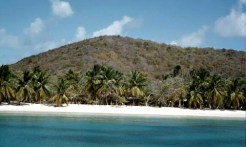 The Beach at Salt Whistle Bay, Mayreau