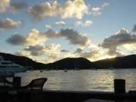 North Sound Sunset from Biras Creek Resort