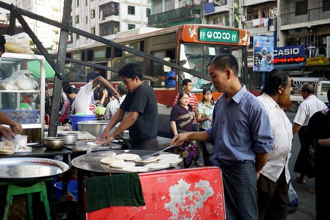 street food yangon