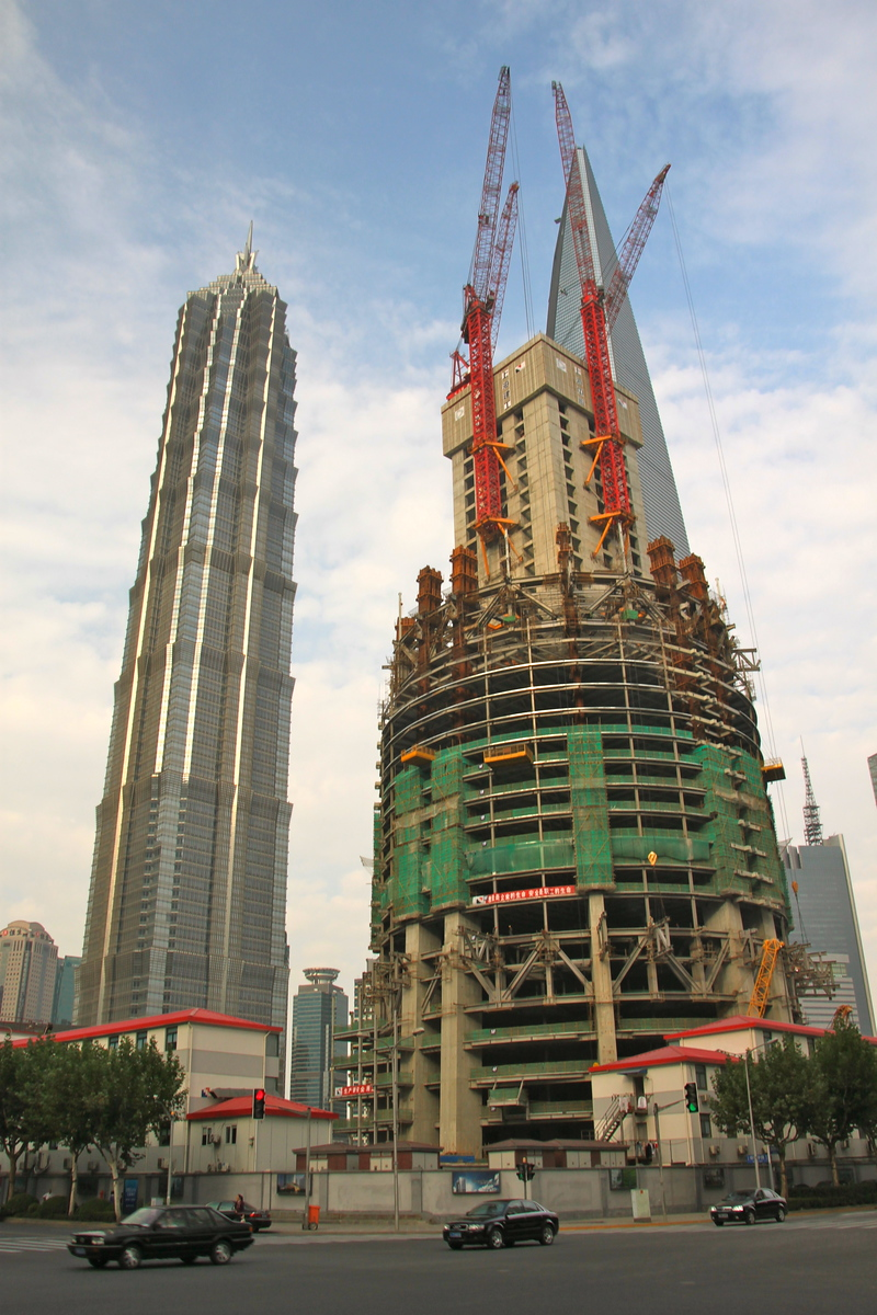 Jin Mao Tower and The Shanghai Tower - Shanghai, China - Photo