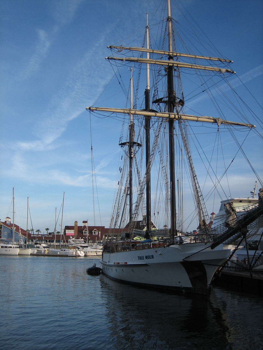 Tall Ship - Long Beach, California