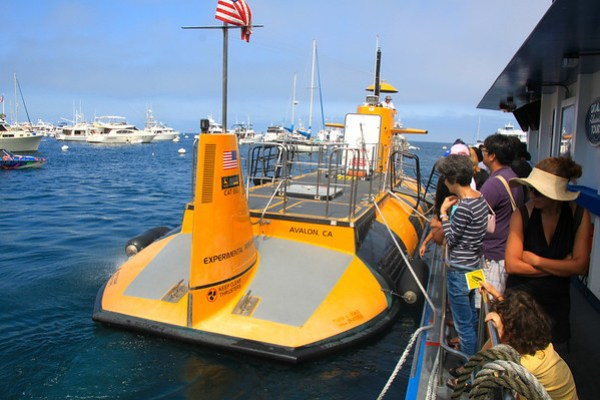 Nautilus Semi-Submersible on Catalina Island