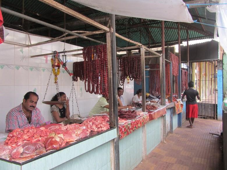 goa sausage market