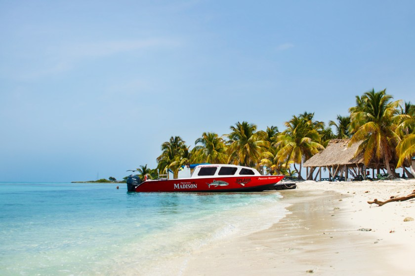 Laughing Bird Caye - Just a 40 minute boat ride off the coast of Placencia, Belize