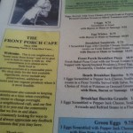 Variety at The Front Porch Cafe-a South Beach breakfast