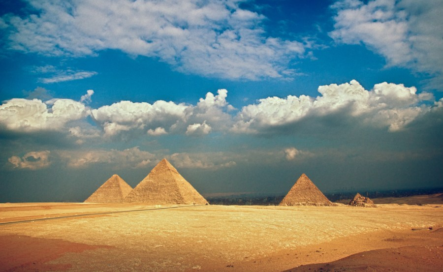 Giza Pyramids-4