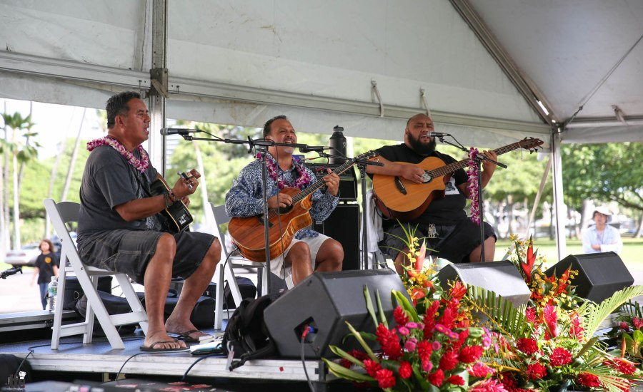 Iolani Palace-Ola Ka Ha Festival-8
