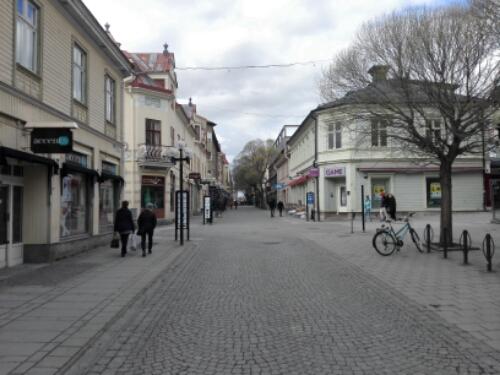 Prästgatan (Priest Street) in Östersund