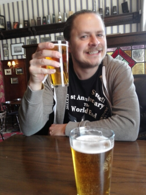 A beer in Östersund