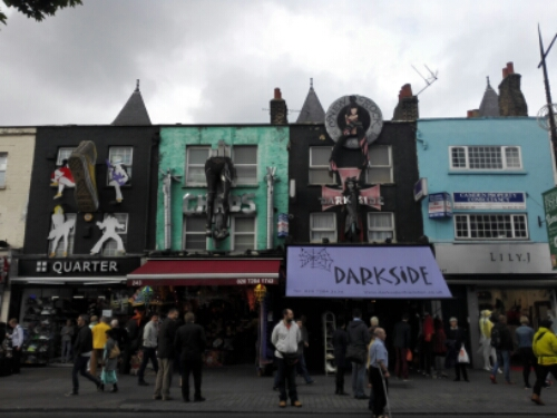 Camden Town storefronts