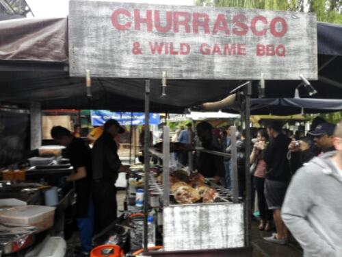Food market in Camden Town