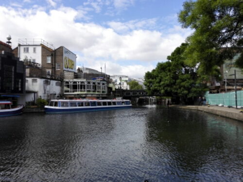 Regent's Canal and Camden Town