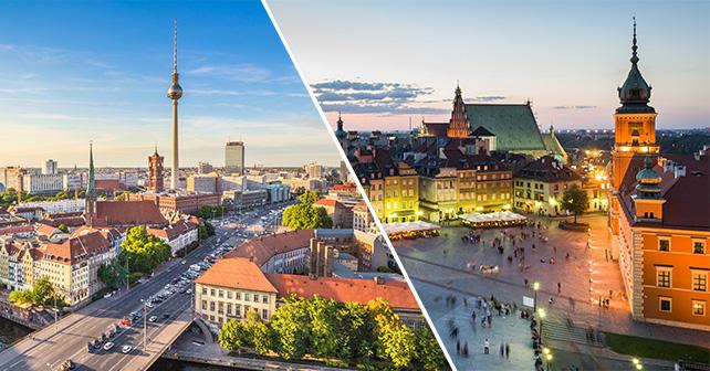 ZOMERdeal! Berlijn of Warschau vanaf €26 retour in de zomervakantie ...: travelunlimited.be/vluchten/zomerdeal-naar-berlijn-of-warschau...