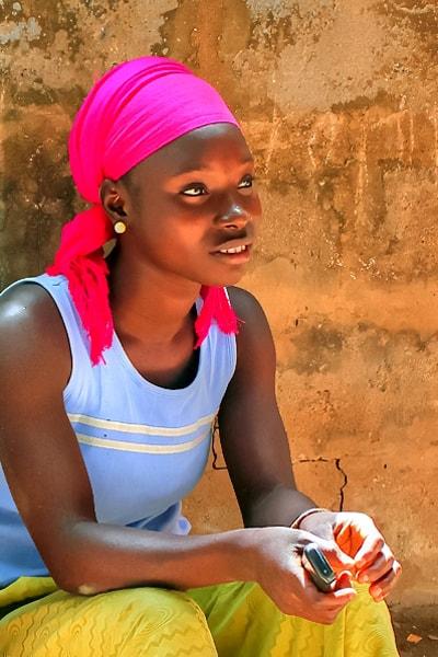#BLogGambia, Gambian portrait, Kanuma