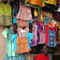 The Gambia - A photo walk around Banjul market
