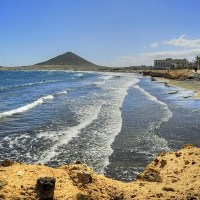 El Médano, a laid-back town and a kite-surfer's paradise