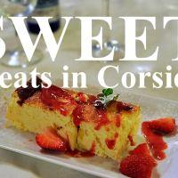 Sweet treats in Corsica