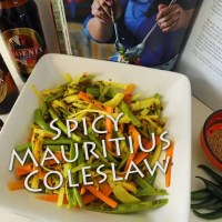 A Taste of Mauritius (and a Spicy Coleslaw Recipe)