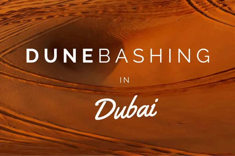 Video: Dune Bashing in Dubai