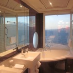 Norwegian Epic Haven Suite Bathroom TravelXena.com
