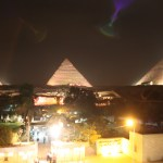 Cairo-Egypt-Pyramids-at-Night-TravelXena.com