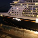 Disney-Dream-at-night-Nassau-Bahamas-TravelXena-3