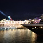 Disney-Dream-at-night-Nassau-Bahamas-TravelXena-6