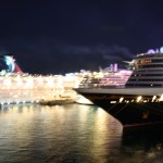 Disney-Dream-at-night-Nassau-Bahamas-TravelXena-7