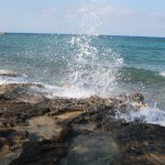 Great-Stirrup-Cay-Water-Hitting-Rocks-TravelXena-2