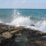 Great-Stirrup-Cay-Water-Hitting-Rocks-TravelXena-5