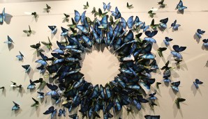 Blue-Butterfly-Art-Norwegian-Getaway-TravelXena-1